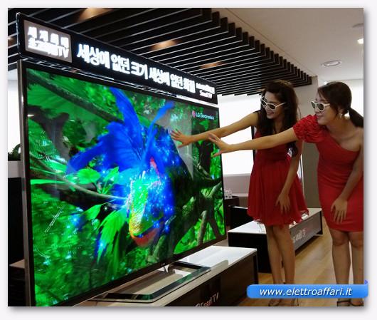 Foto di una TV HD