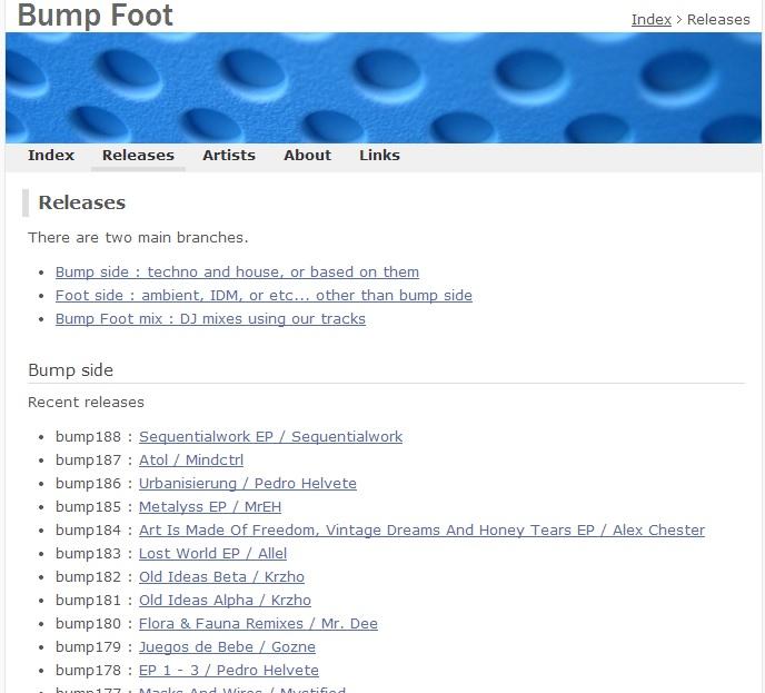Immagine del sito Bumpfoot
