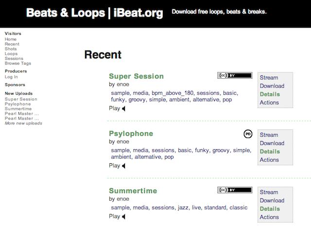 Immagine del sito iBeat
