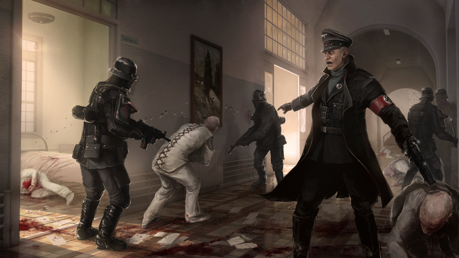 Immagine del gioco Wolfenstein: The New Order per PS4