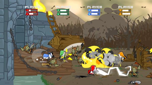 Immagine del gioco Castle Crashers
