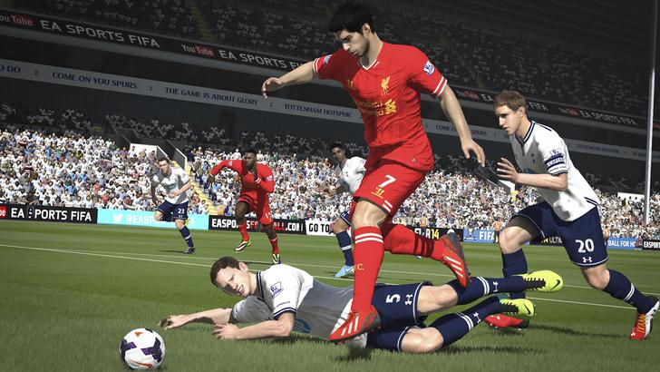 Immagine del gioco FIFA 14 per PS4