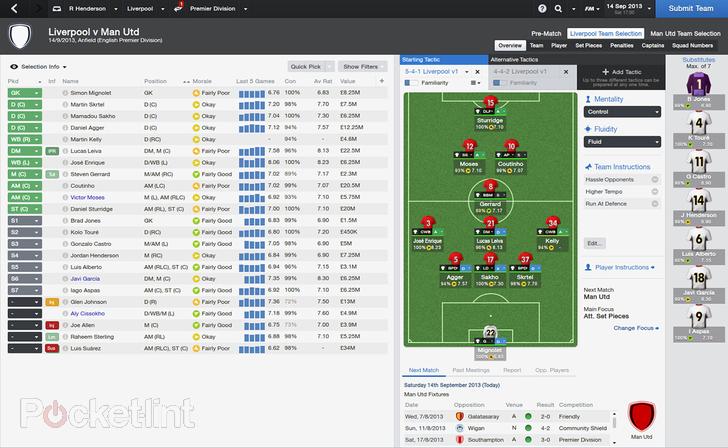 Immagine del videogioco Football Manager 2014