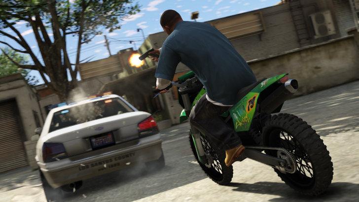 Immagine del videogioco gta v