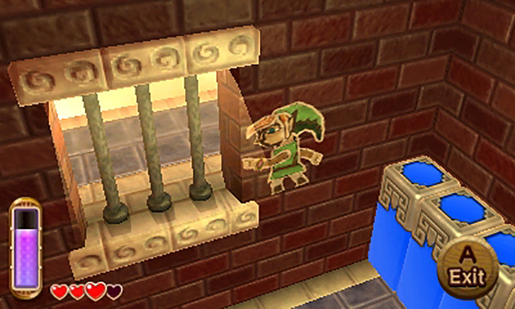 Immagine del videogioco The Legend of Zelda: A Link Between Worlds