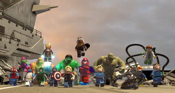 Immagine del gioco Lego Marvel Super Heroes per PS4