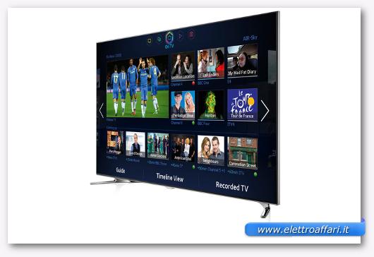 Immagine della Samsung UE55F8000 LCD TV