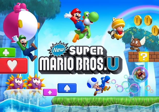 Immagine del gioco New Super Mario Brothers U