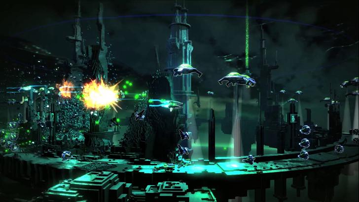 Immagine del gioco Resogun per PS4