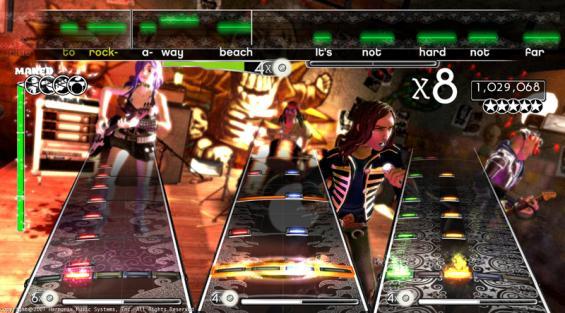 Immagine del gioco Rock Band