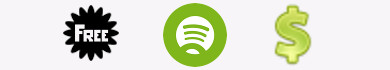 Differenze tra Spotify Free e Spotify Premium