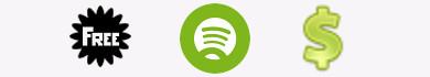 Differenze tra Spotify Free e Spotify Premium