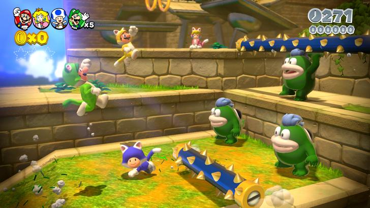 Immagine del gioco Super Mario 3D World