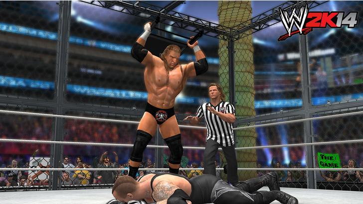 Immagine del videogioco WWE 2K14