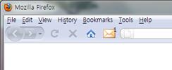 Schermata dell'estensione X-Notifier per Firefox