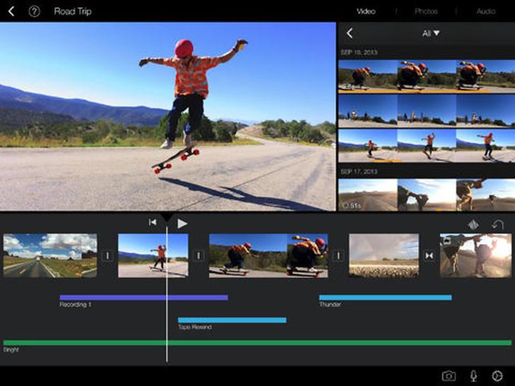 Immagine sulle applicazioni Apple per iPad Air