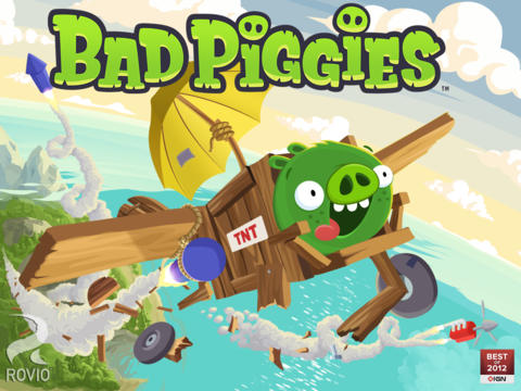 Schermata del gioco Bad Piggies HD per iPad