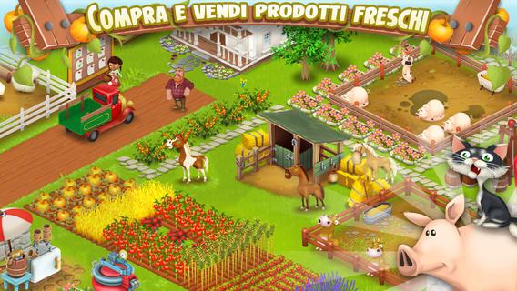 Schermata del gioco Hey Day per iPad
