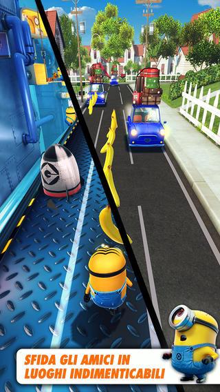 Schermata del gioco Cattivissimo Me: Minion Rush per iPad