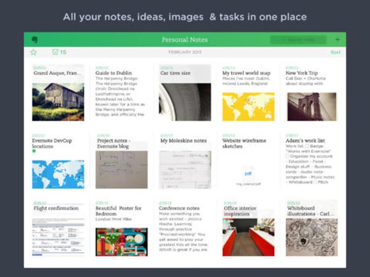 Immagine sulle applicazioni di produttività per iPad Air