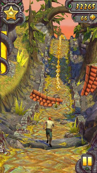 Schermata del gioco Temple Run 2 per iPad