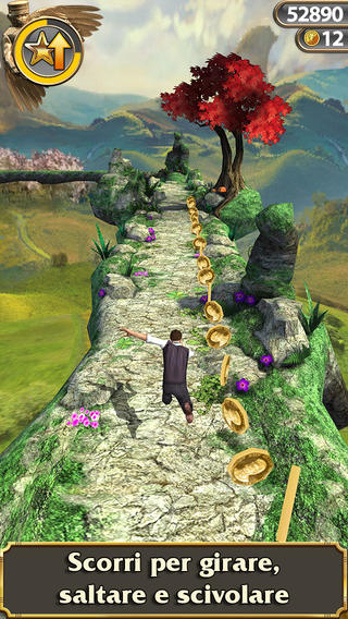 Schermata del gioco Temple Run: Oz per iPad