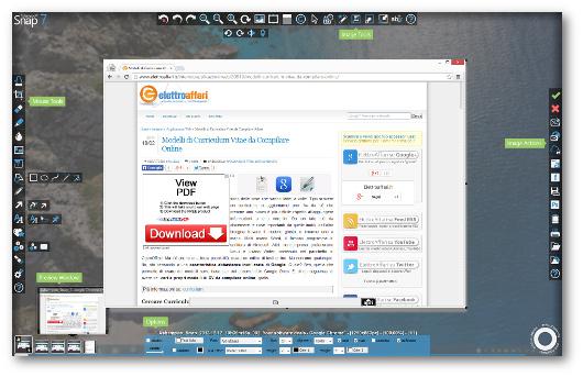 Immagine del programma Ashampoo Snap per fare screenshot