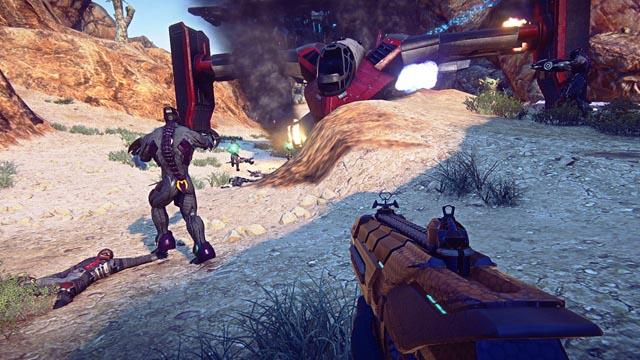 Immagine del gioco PlanetSide 2