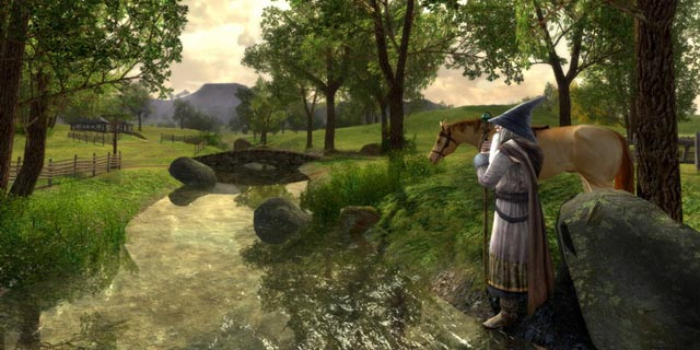 Immagine del gioco Il signore degli anelli online