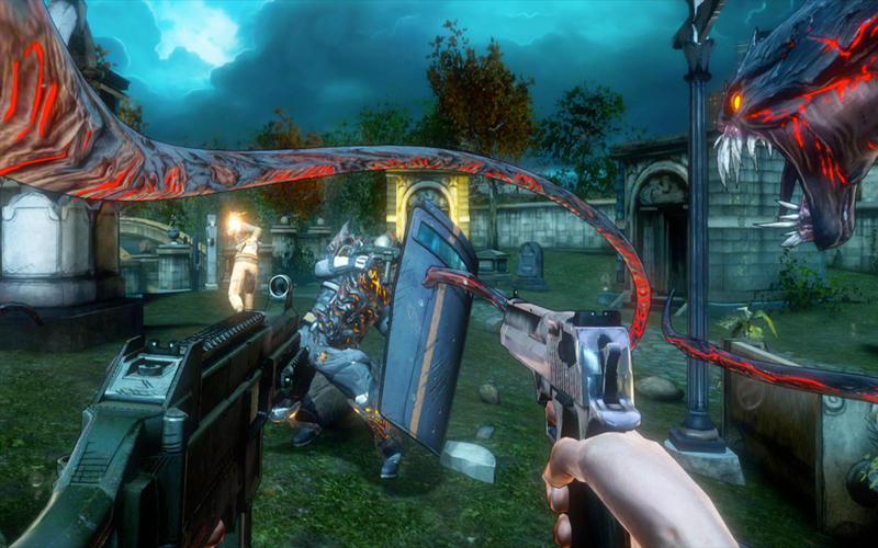 Immagine del gioco The Darkness 2 per Mac