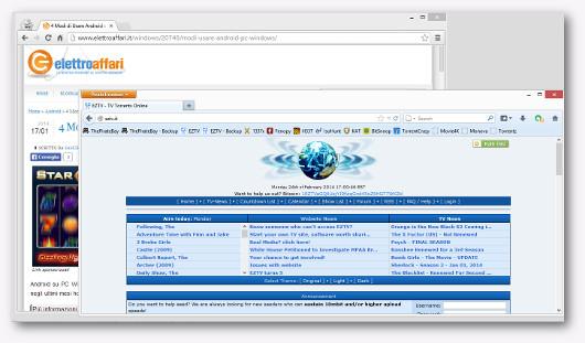 Immagine del sito EZTV