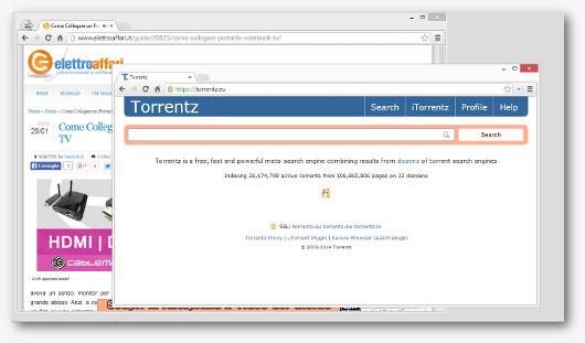 Immagine del sito Torrentz