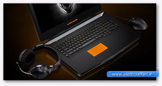 Immagine del notebook Alienware 18