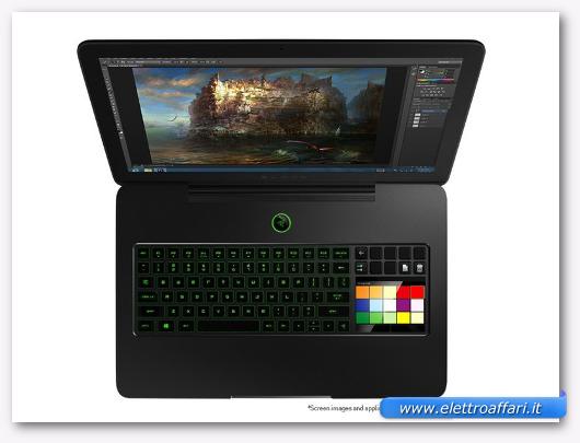 Immagine del notebook Razer Blade Pro