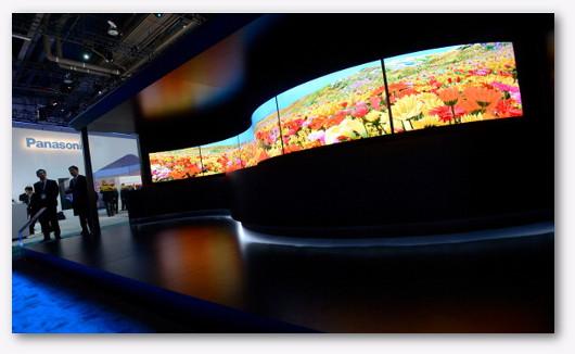 Foto di un negozio di TV