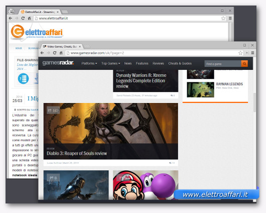 Immagine del sito GameRadar