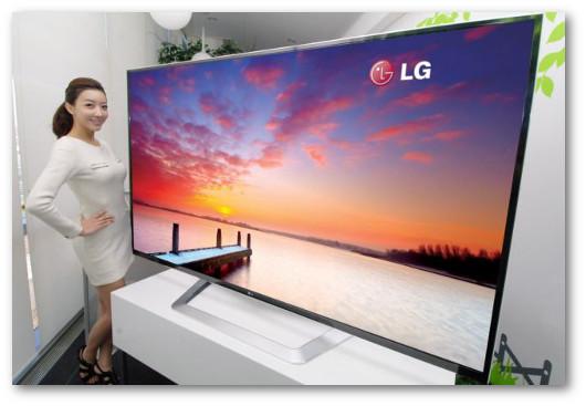 Immagine di una TV con alta risoluzione