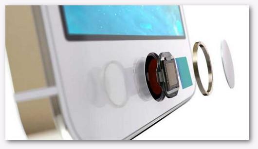 Immagine di un sensore di impronte digitali
