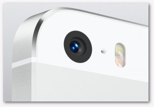 Immagine dela fotocamera di un iPhone 5S