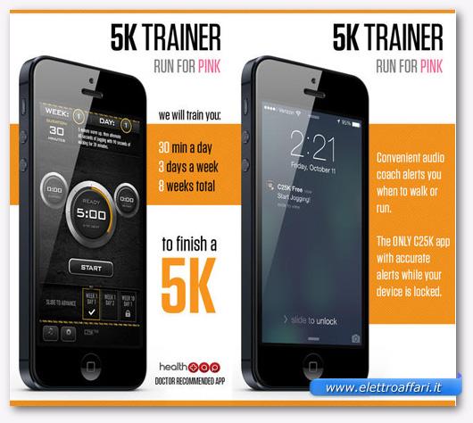 Immagine dell'applicazione C25K per iPhone
