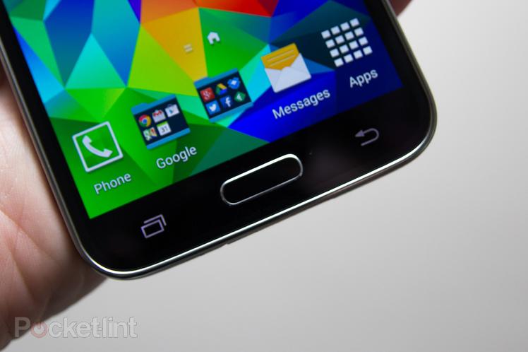 Immagine dei tasti del Samsung Galaxy S5