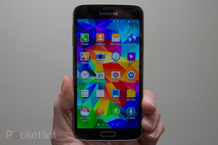 Immagine dello schermo di un Samsung Galaxy S5