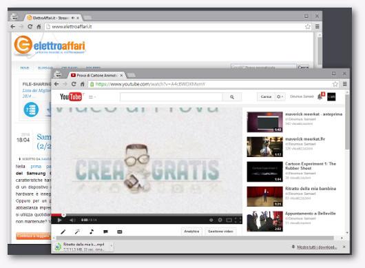 Immagine di un video su YouTube
