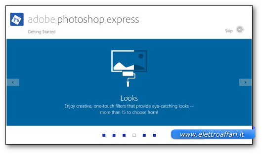 Immagine del programma Adobe Photoshop Express