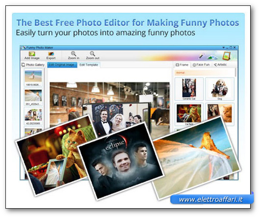 Immagine del programma Funny Photo Maker