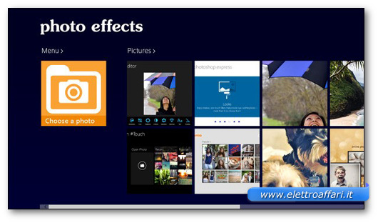 Immagine del programma PhotoEffects