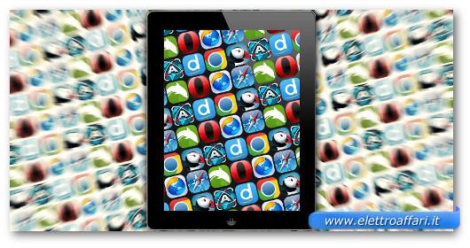 Immagine sui browser per iPad
