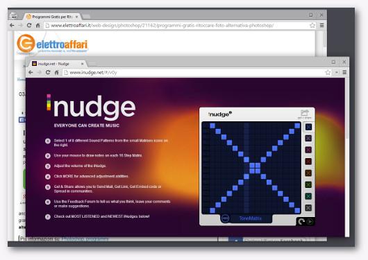 Immagine del sito Inudge