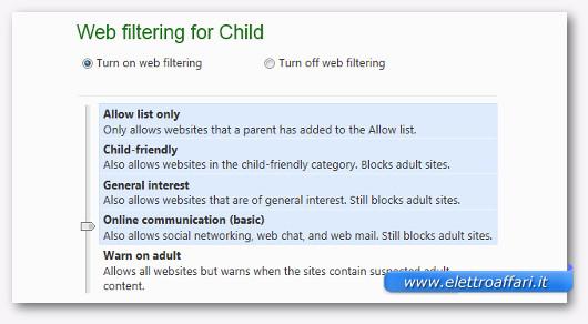 parental control windows 8