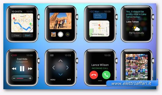 Smartwatch Apple Watch caratteristiche